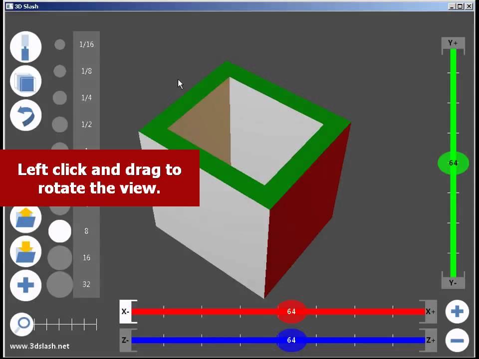 3D Slash - tools