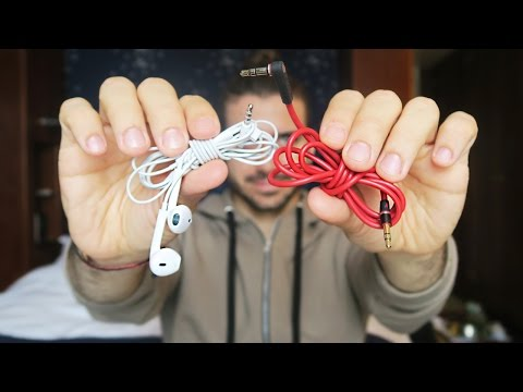 HOW TO WRAP HEADPHONES | TIE EARBUDS CORRECTLY | ALEX COSTA