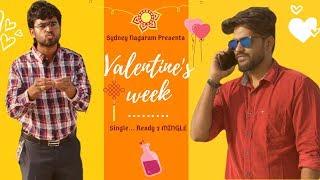 Valentine's week | Singles Vs Committed | Valentine's day Telugu short film