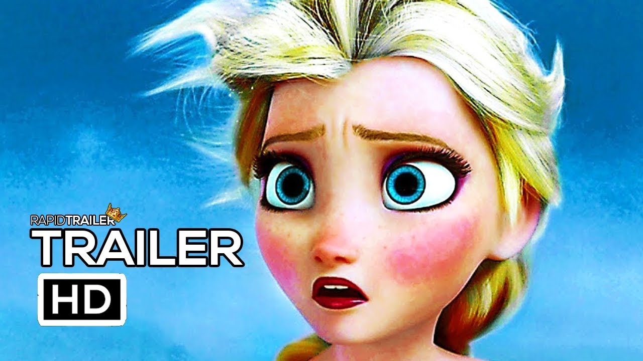 Frozen 2 Official Trailer 2019 Disney Animated Movie Hd