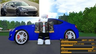 Reseña de la New Sicon FRS on Ultimate Driving Roblox!