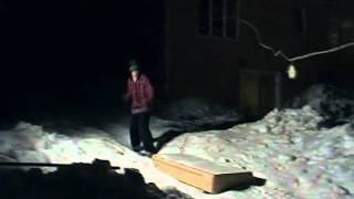 Alex Nivison 2010-2011 snowskate edit