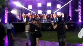 Banda San Nicolas en la Boda de Tony y Cristina 10 Abril 2015 S.L.P. OSCAR PRODUCCIÓNES