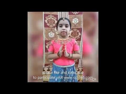 sagalakala vallimalai saraswathi devi song by a small girl