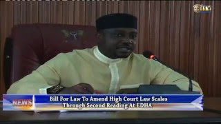 EDHA: Bill for law to amend High Court Law scales through second reading