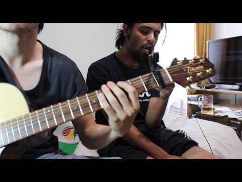 Brushy One String - Chicken in The Corn) COVER! fabrizio acuña - miguel angel quezada