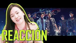 "COREANA REACCIONA A ""CNCO - Reggaetón Lento (Bailemos)"""