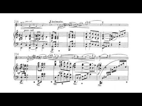 Amy Beach - Violin Sonata, Op. 34: 1. Allegro Moderato