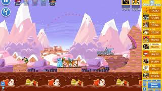 Angry Birds Friends/ SantaCoal i CandyClaus tournament, week 295/1, level 1