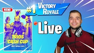 "TJ Gets Carried By Me! Plus de 1000 victoires Utilisez le code ""VinnyYT"" Diffusion en direct de Fortnite Xbox"