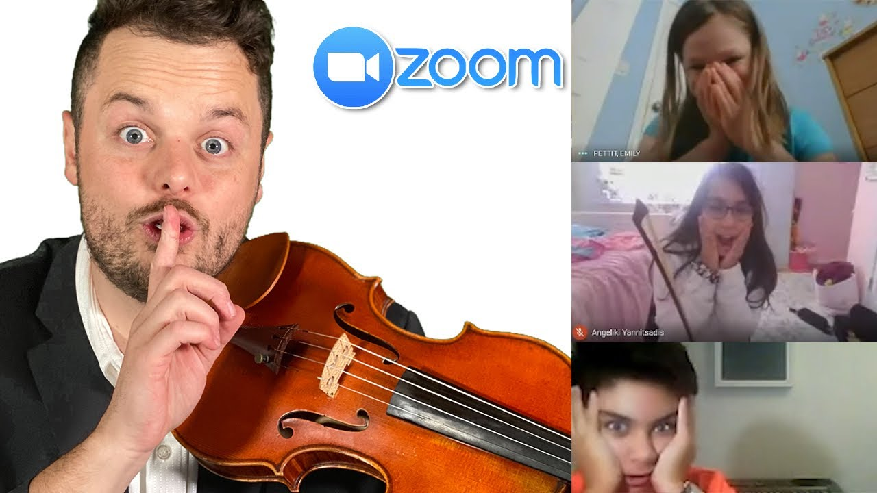 I Rickrolled Zoom Classes on Violin