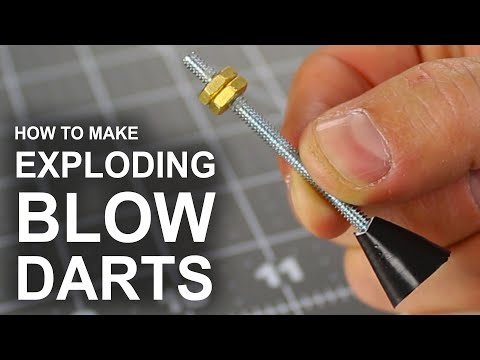 Thumbnail: How To Make Exploding Tipped Blow Darts