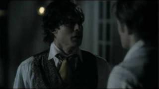 Damon & Katherine/Elena 1x13 (Scene 9)