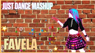 Baixar Just Dance 2019 - Favela by Alok, Ina Wroldsen (mashup/fanmade) - POPPY DANCE