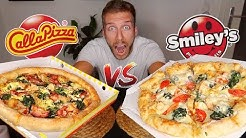 SMILEYS vs CALL A PIZZA | LIEFERDIENST TEST