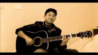 Giọt sương và chiếc lá (guitar cover).wmv