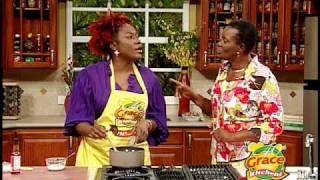 Audrey Reids Oven Roasted Honey Mustard Chicken - Grace Foods Creative Cooking