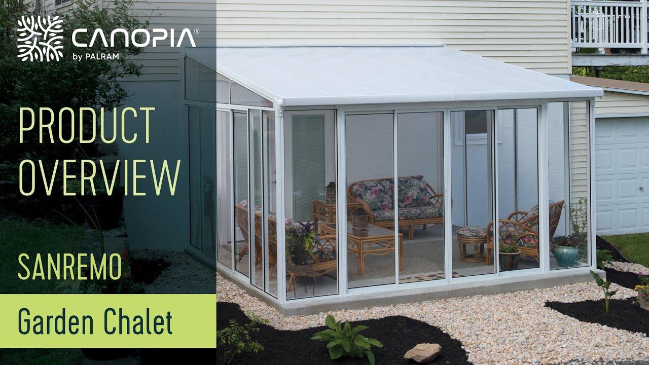Sunroom Patio Enclosure Palram SanRemo™ Winter Garden Conservatory