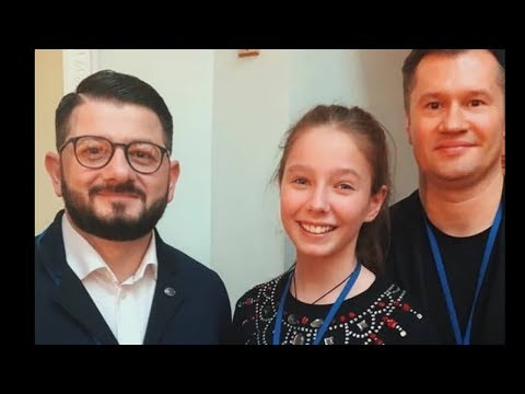 Дочь ЮЛИИ НАЧАЛОВОЙ Вера Алдонина умная талантливая девочка 🙏💖