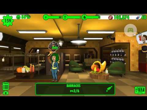 Fallout Shelter New Thanksgiving Theme!
