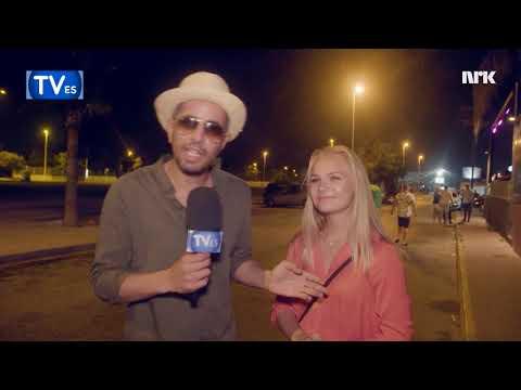 Television Espana intervjuer nordmenn i Spania
