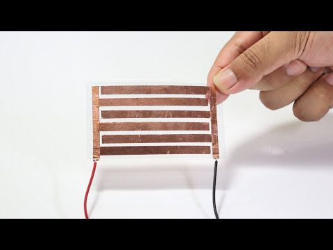 How to make solar cell / panel at home (Free energy from sunlight)