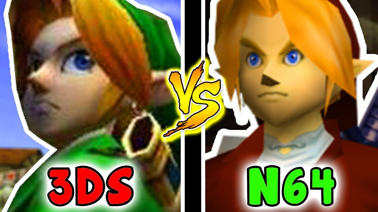 Zelda: Ocarina Of Time - N64 VS 3DS ANY% Speedrun Comparison/Analysis