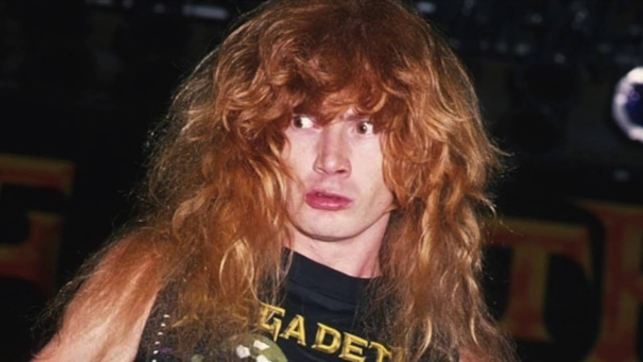 Megadeth's Dave Mustaine, high as fuck in Oakland, 1988 - YouTube