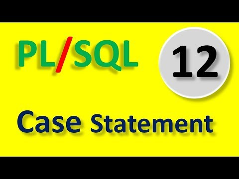 Case Statement In PL/SQL | Part -12  | In Hindi By Tech Talk Tricks