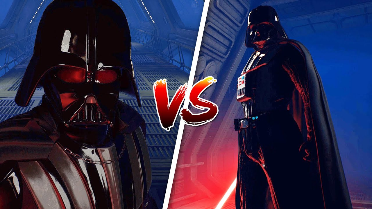Fallen Order but Darth Vader Has Schizophrenia