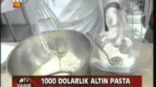 Yusuf Yarans Golden Cake at ATV Prime News