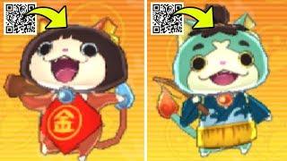 How To Get Kintaronyan And Odysseynyan In Yo-kai Watch Blasters With QR Codes!