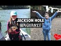 FISHING, RIVER RAFTING, & COVERED WAGON RIDE! Adventures in Jackson Hole, Wyoming! - H.A.R.T. Ep 10