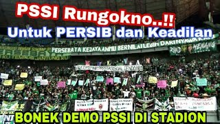 Wahai PSSI Dengarkan..!! Bonek Menyuarakan Aspirasi untuk PSSI di Stadion GBT | Persebaya vs Borneo