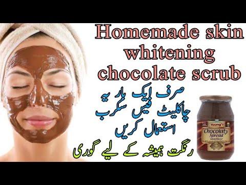 homemade-skin-whitening-chocolate-scrub---get-glowing-spotless-and-fair-skin---chocolate-face-scrub