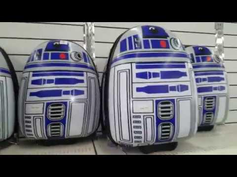 Star Wars Luggage At Kmart 👉ymmv👈 Youtube