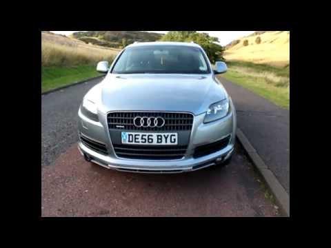 Audi Q7 3.0 TDI 2oo6 Automatic for sale in Edinburgh Scotland - Review