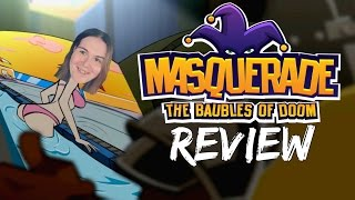 Masquerade The Baubles of Doom   PS4 Quick Review #TheRoxyReport