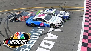Ryan Blaney edges Ryan Newman at Talladega in unbelievable photo finish | Motorsports on NBC