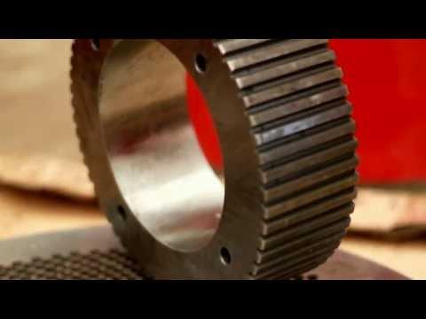 смотреть видео по изготовлению роликов конвейерных