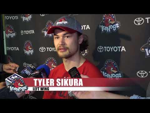 Tyler Sikura Post Game Interview May 9, 2018