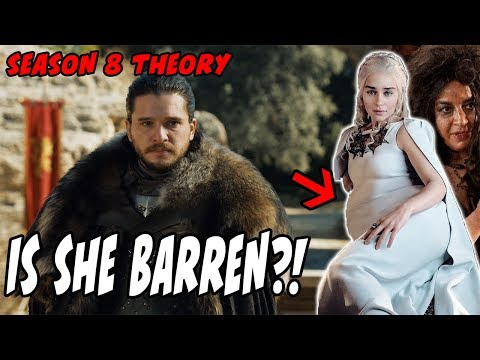Daenerys Is NOT Barren! Theory Game Of Thrones Season 8 Filming News!!