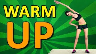 Warm Up Exercises Before Workout [Stretching Pre Workout]