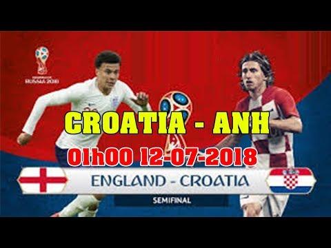 ANH vs CROATIA 01H00 12-07-2018 FIFA WORLD CUP RUSSIA | TIN TỨC 24H