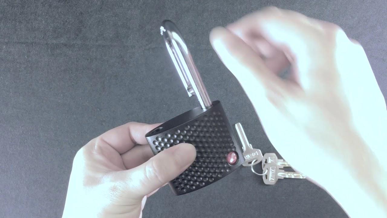 ZA70 Self-Latching & Non-Key Retaining Demonstration