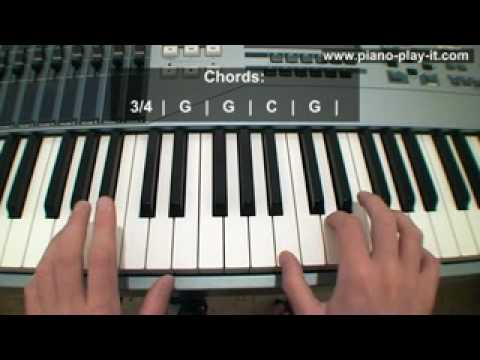 Amazing Grace Piano Tutorial (How to Play Amazing Grace on Piano)