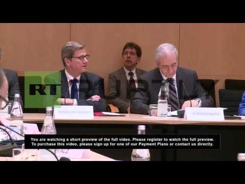 Germany: Foreign Minister, Guido Westerwelle, calls for Foreign Affairs Committee meeting