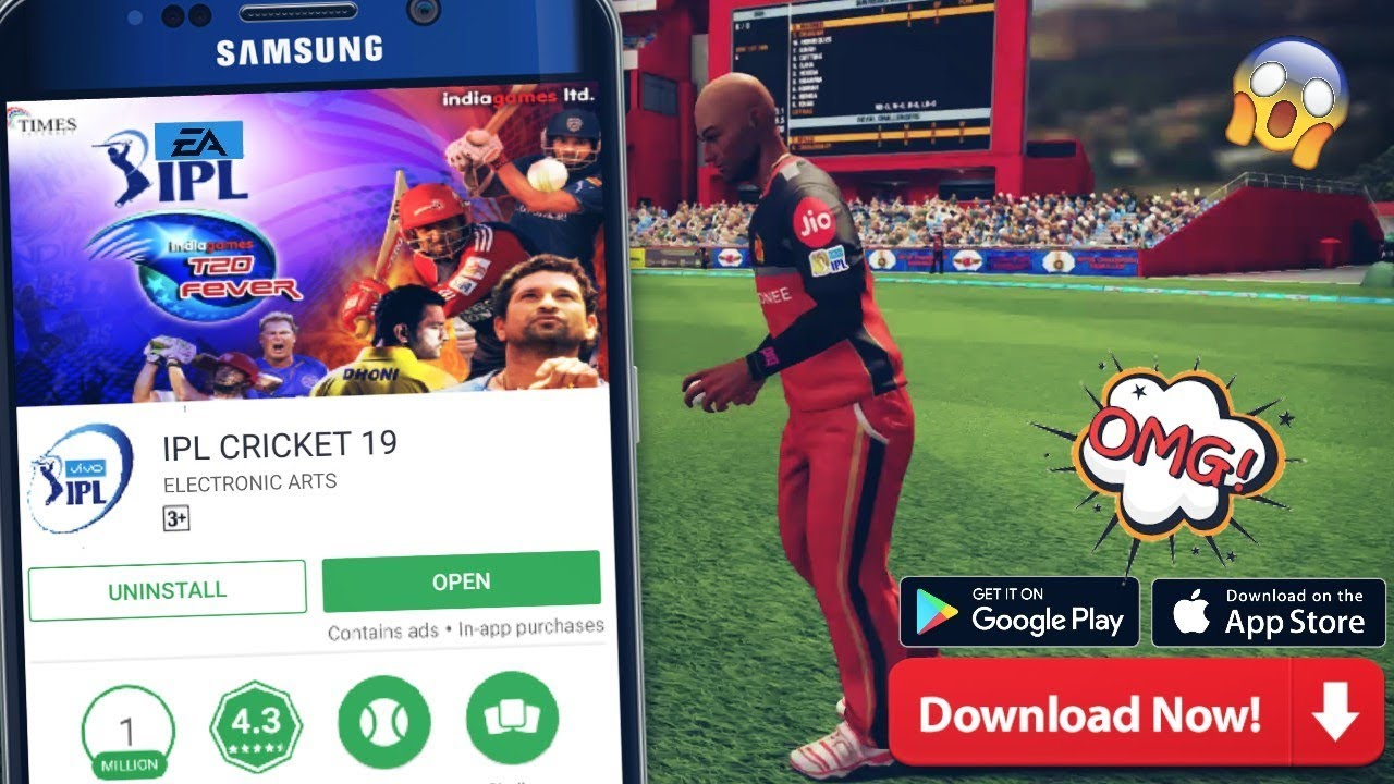 REAL IPL CRICKET 2019 BRAND NEW GAME LAUNCHED FOR ANDROID || FULL REVIEW |  BAAP OF ALL CRICKET GAMES