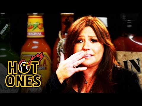 Rachael Ray Mainlines Hot Sauce for Thanksgiving | Hot Ones