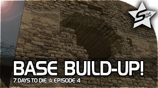 7 days to die xbox one gameplay part 4 first base build up